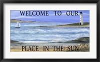 Welcome Place In Sun Fine Art Print