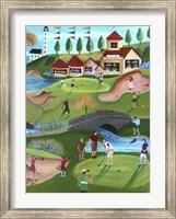 Country Golf Club Fine Art Print