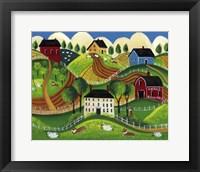 Corgi Country Fine Art Print