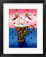 Cappuccino Fairies Fine Art Print