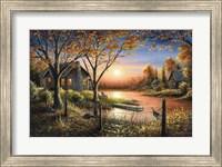 An Autumn Sunset Fine Art Print