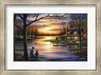Father and Son Fine Art Print