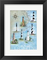 North Carolina Lights Fine Art Print