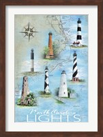North Carolina Lights Fine Art Print