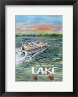 What happens at the Lake Fine Art Print