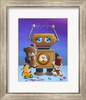 The Toy Robot Fine Art Print