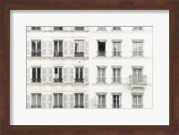 Paris Apartement Building II Fine Art Print