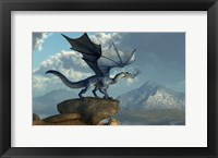 Blue Dragon Fine Art Print