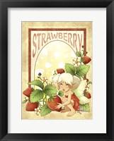 Strawberry Fairy Fine Art Print