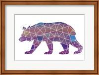Bear - Ombre Fine Art Print