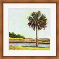 Marsh Palm Fine Art Print