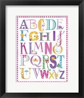 Baby Girl Alpha Fine Art Print