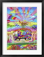 Magic Bus Fine Art Print