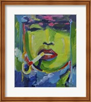 Madonna Smoking Fine Art Print