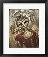 Lady Steam Fine Art Print