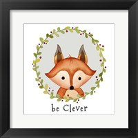 Be Clever Fox Fine Art Print