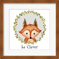 Be Clever Fox Fine Art Print