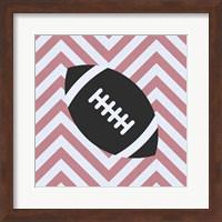 Eat Sleep Play Football - Pink Part I Fine Art Print
