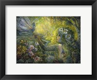 Dryad And The Dragonfly Fine Art Print