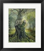 Dryad And The Tree Spirit Fine Art Print