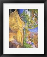 Goddess Between Realms Fine Art Print