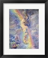 Iris, Keeper Of The Rainbow Fine Art Print