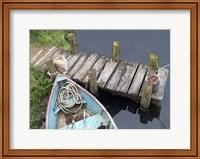 Docked Boat Fine Art Print