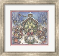 Snowpeoples Orchestra Fine Art Print