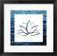 Yoga V1 Lotus Fine Art Print
