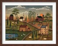 Village Day Fine Art Print
