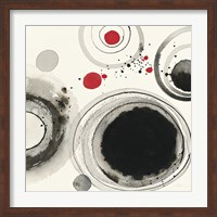 Planetary IV with Red Fine Art Print
