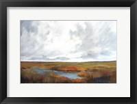 Sunset Over The Marsh Fine Art Print