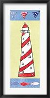Coastal Lighthouse II Fine Art Print