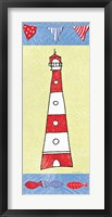 Coastal Lighthouse I Fine Art Print