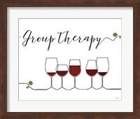 Underlined Wine IX Fine Art Print