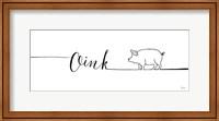 Underlined Farm I Fine Art Print