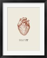 Beat it Fine Art Print