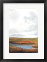 Sunset Over The Marsh II Fine Art Print