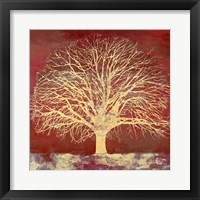 Crimson Oak Fine Art Print