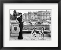 Walking in Paris Fine Art Print