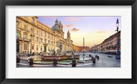 Piazza Navona, Roma Fine Art Print