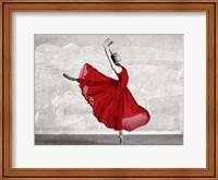 Ballerina in Red Fine Art Print