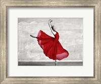 Ballerina in Red Fine Art Print