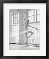 Ballerina Rehearsing Fine Art Print