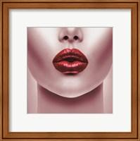 Red Lips Fine Art Print