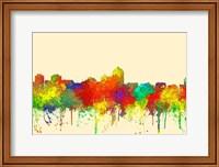 Albuquerque New Mexico Skyline-SG Fine Art Print