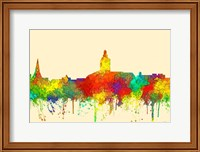 Annapolis Maryland Skyline-SG Fine Art Print