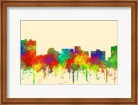 Arlington Texas Skyline-SG Fine Art Print