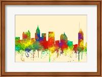 Atlanta Georgia Skyline-SG Fine Art Print