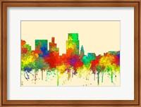 Boise Idaho Skyline-SG Fine Art Print